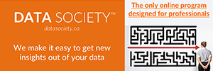 Data Society Ad for making it easy to get new insights out of your data
